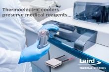 Thermoelectric coolers preserve medical reagents